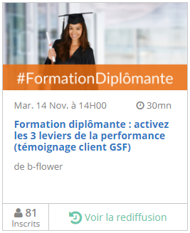Replay webinar formation diplomante